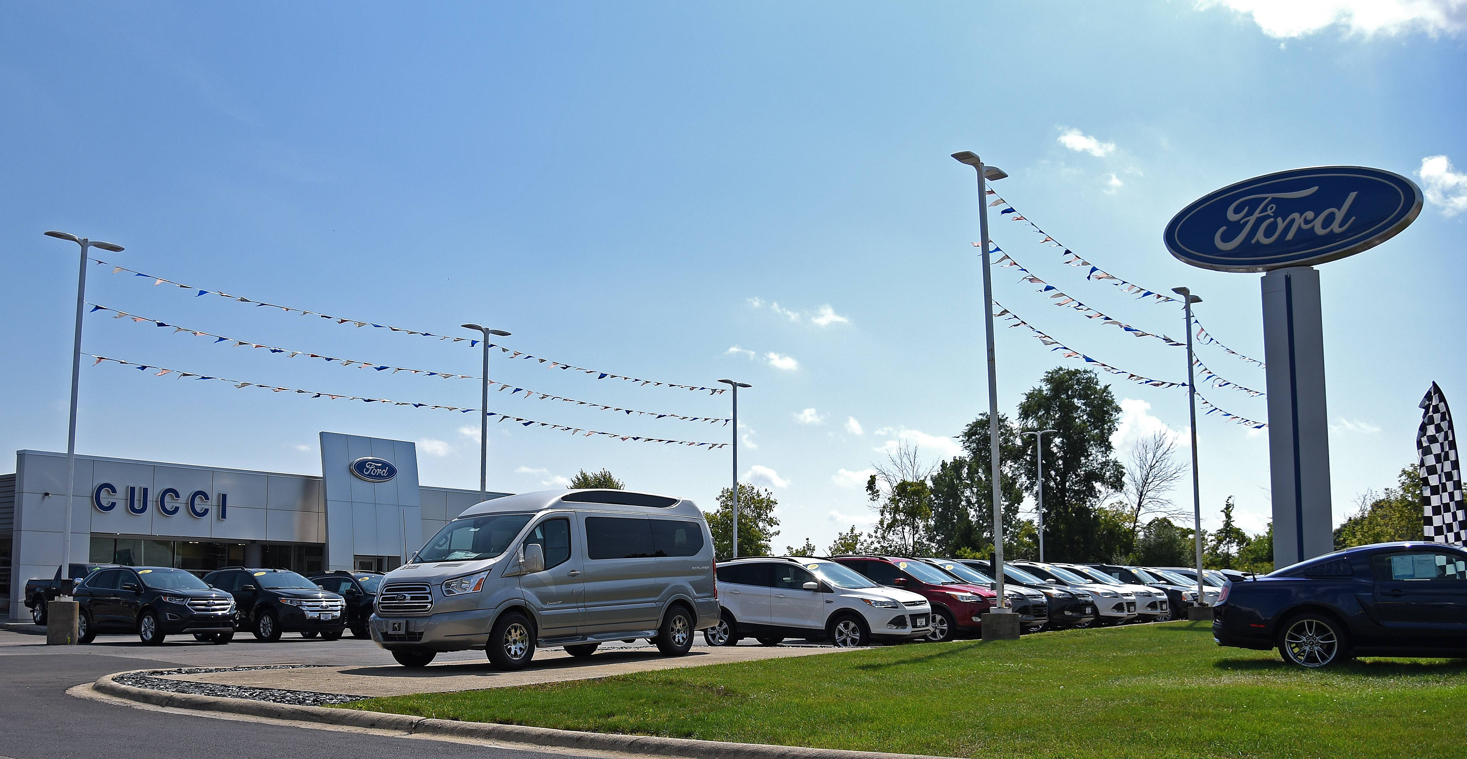 The East Dundee village board amended a redevelopment agreement with the Cucci Ford automobile dealership at 800 Dundee Ave. after realizing the business was not generating as much tax revenue as expected.