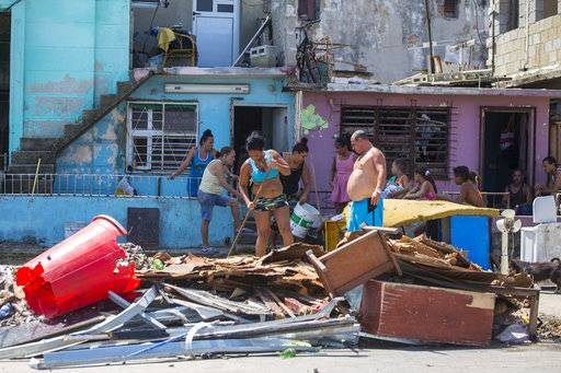 Cuba's decrepit buildings no match for Hurricane Irma