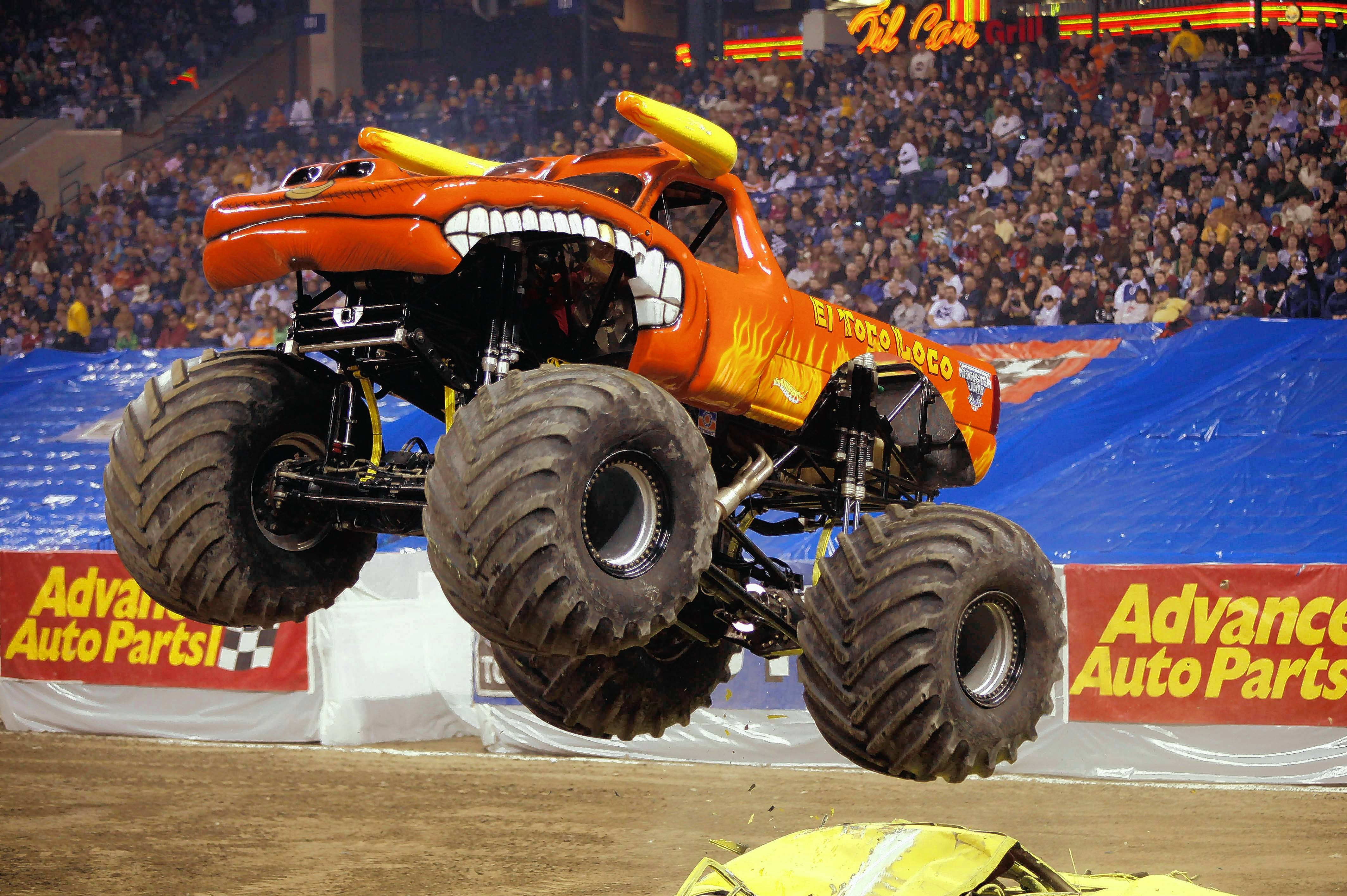 Monster Jam trucks will roll into Rosemont's Allstate Arena from March 2-5 with the Monster Jam Triple Threat Series.