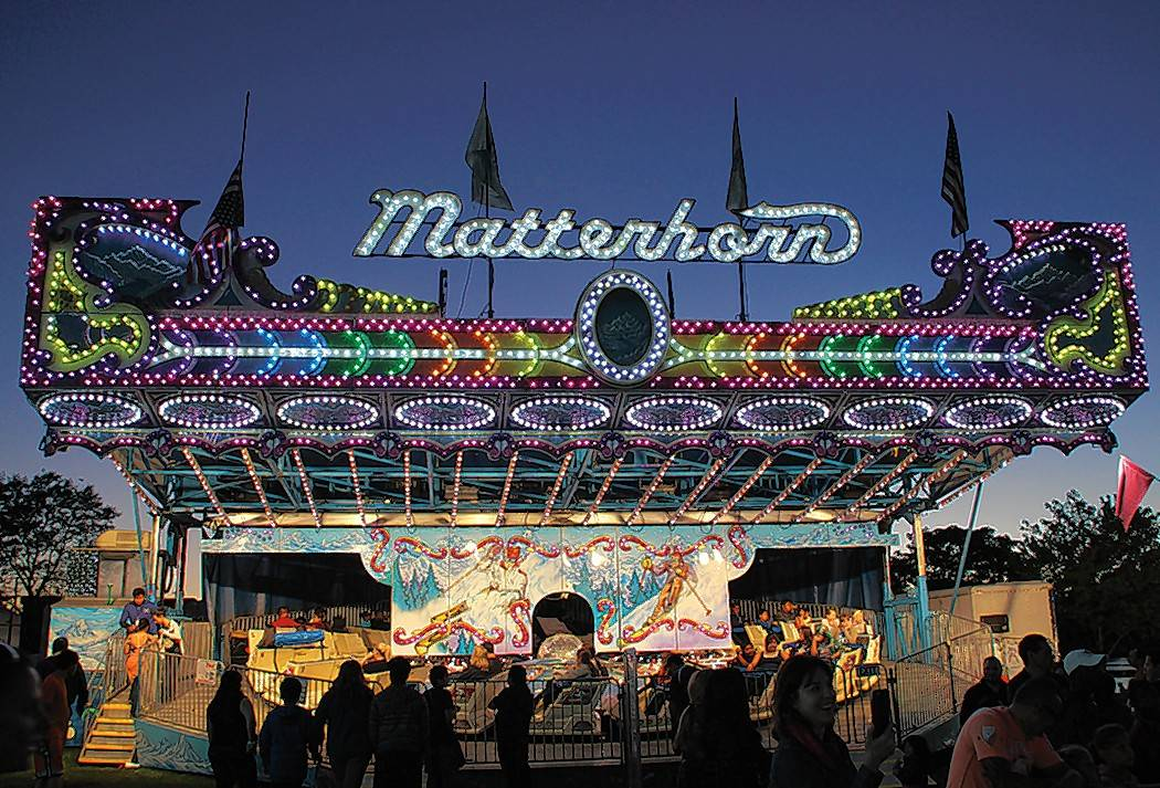 The Matterhorn is a popular carnival ride at Des Plaines Fall Fest.