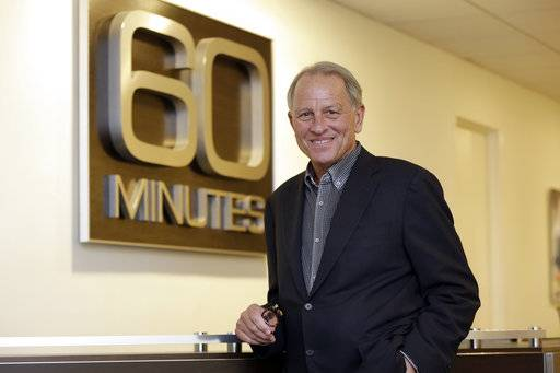 """60 Minutes"" Executive Producer Jeff Fager poses for a photo at the ""60 Minutes"" offices, in New York, Tuesday, Sept. 12, 2017.   CBS' ""60 Minutes,"" the newsmagazine that can credit consistency for much of its success as it enters its 50th anniversary year."