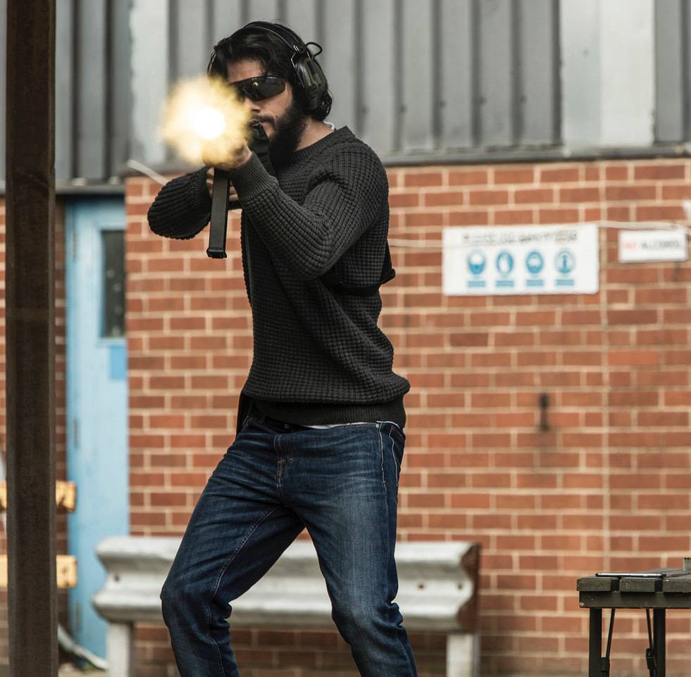 "Mitch Rapp (Dylan O'Brien) prepares to take on a terror kingpin in ""American Assassin."""