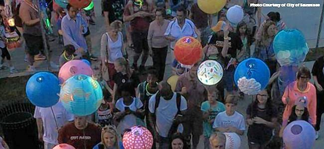 Inspired by an event in Suwanee, Georgia, the Glow in the Park Lantern Walk will feature creatively designed paper lanterns and family activities to raise funds for Ann & Robert H. Lurie's Children Hospital in Chicago.