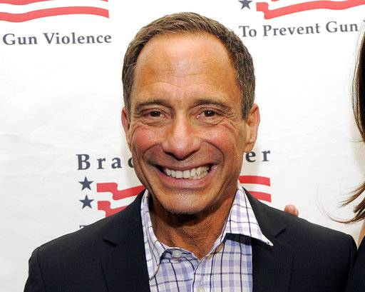"FILE - This May 7, 2013 file photo shows TMZ.com founder Harvey Levin at The Brady Campaign to Prevent Gun Violence Los Angeles Gala in Beverly Hills, Calif. Levin, the founder of the TMZ celebrity website hosts Fox's new Sunday night series ""Objectified.� The program features celebrities showing off personal memorabilia in their homes, starting this weekend with ""Judge Judy"" Sheindlin. (Photo by Chris Pizzello/Invision/AP, File)"