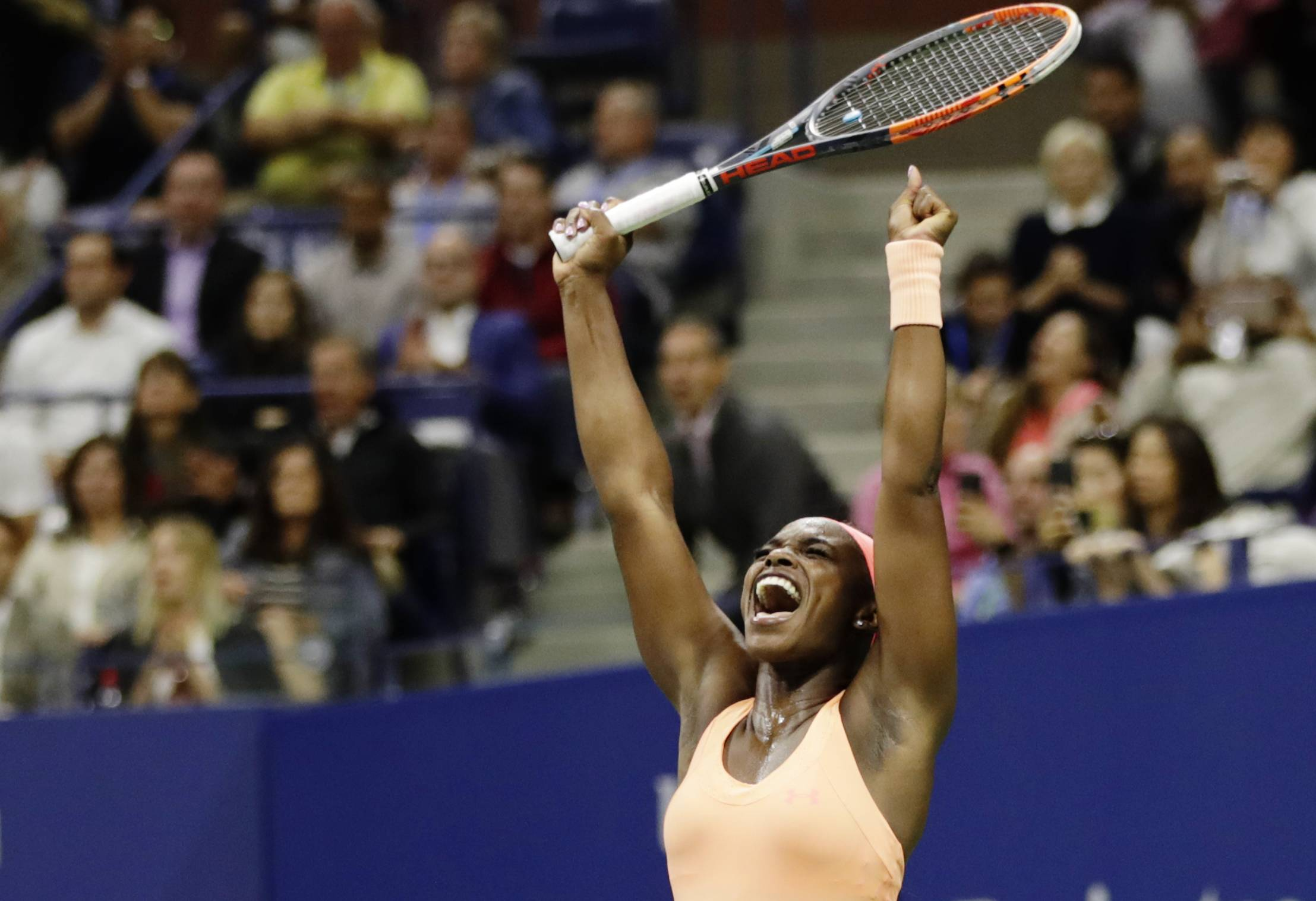 Sloane Stephens had surgery for a stress fracture in her foot back in January, and less than a year later won her first major title.