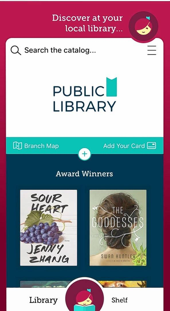 Libby is the new app from OverDrive — a company that works with many local libraries to show off their e-books and audiobooks on offer.