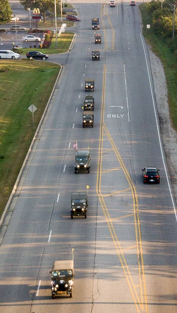 Military convoy sets history in motion Saturday at DuPage County Fairgrounds