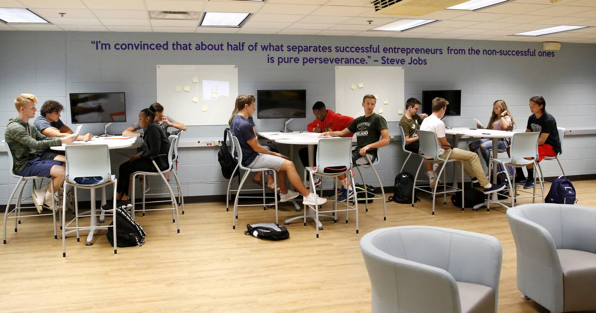 Classroom Ideas For High School ~ More high schools are creating business incubators
