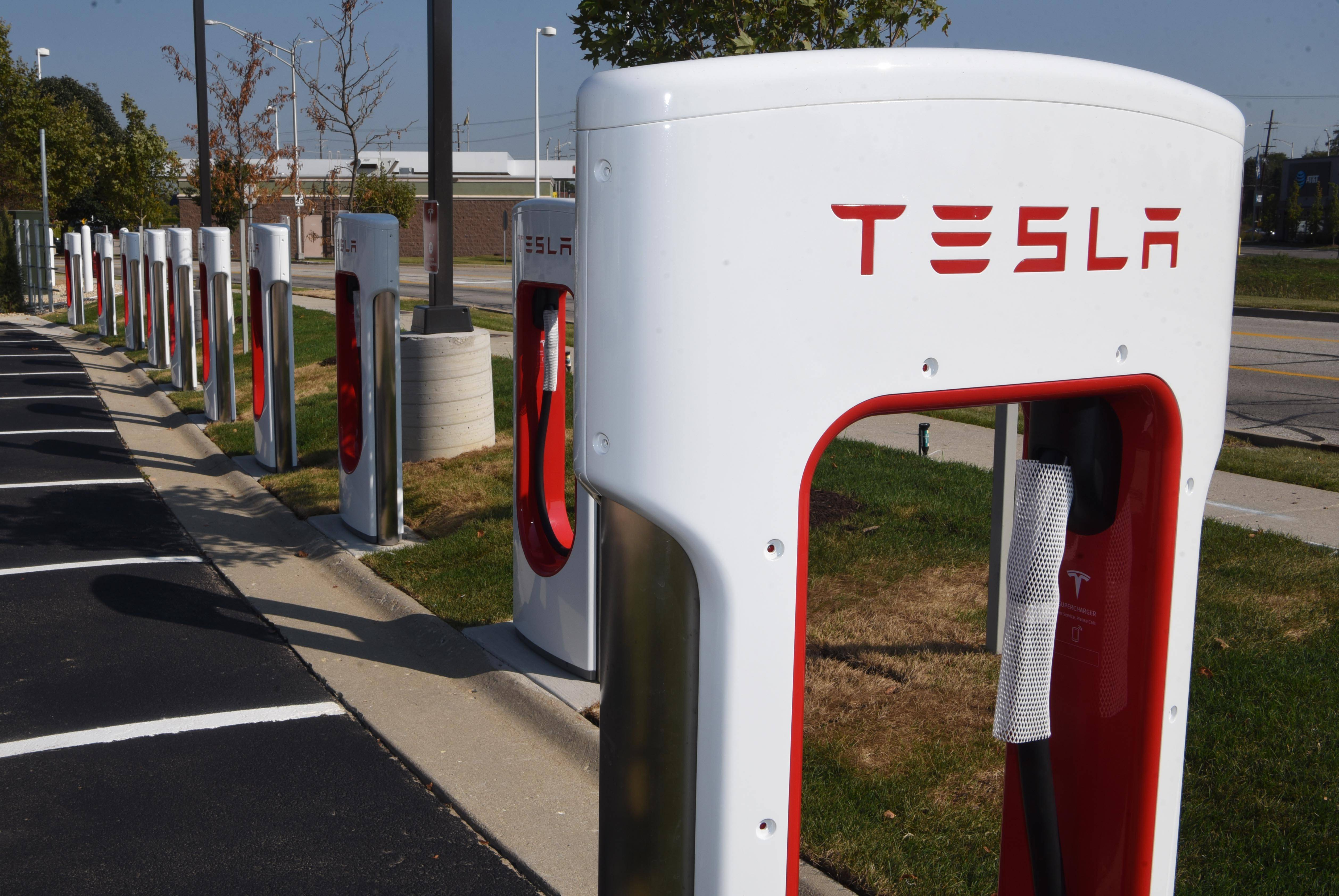 A new Tesla Supercharger station will open in the parking lot of the Meijer store in Rolling Meadows by the end of the year.
