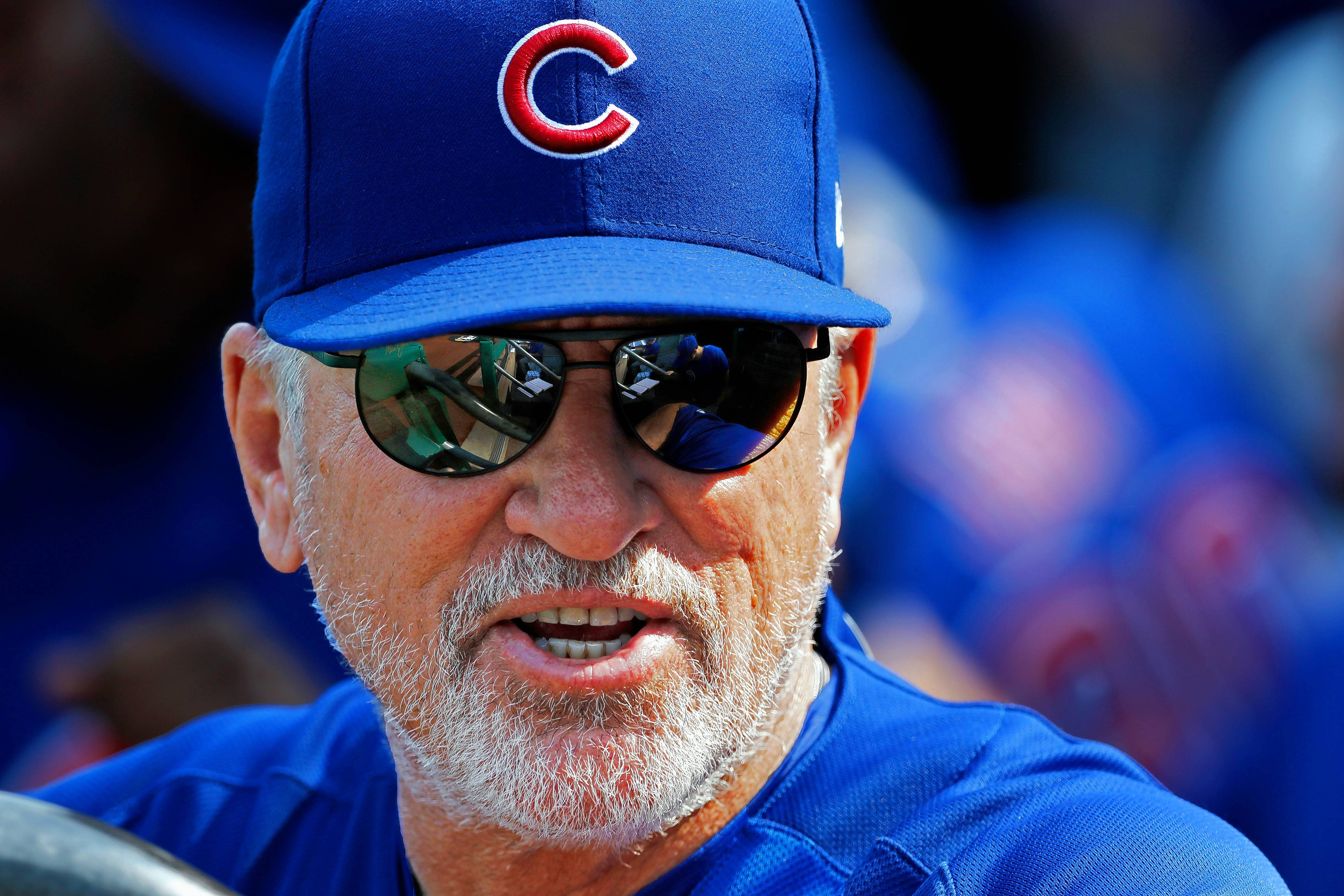 Associated Press Chicago Cubs manager Joe Maddon earned a reputation in Tampa as being good at working with young players on a small-budget team. Getting the Rays to the World Series (they lost to the Phillies) also was a major accomplishment.