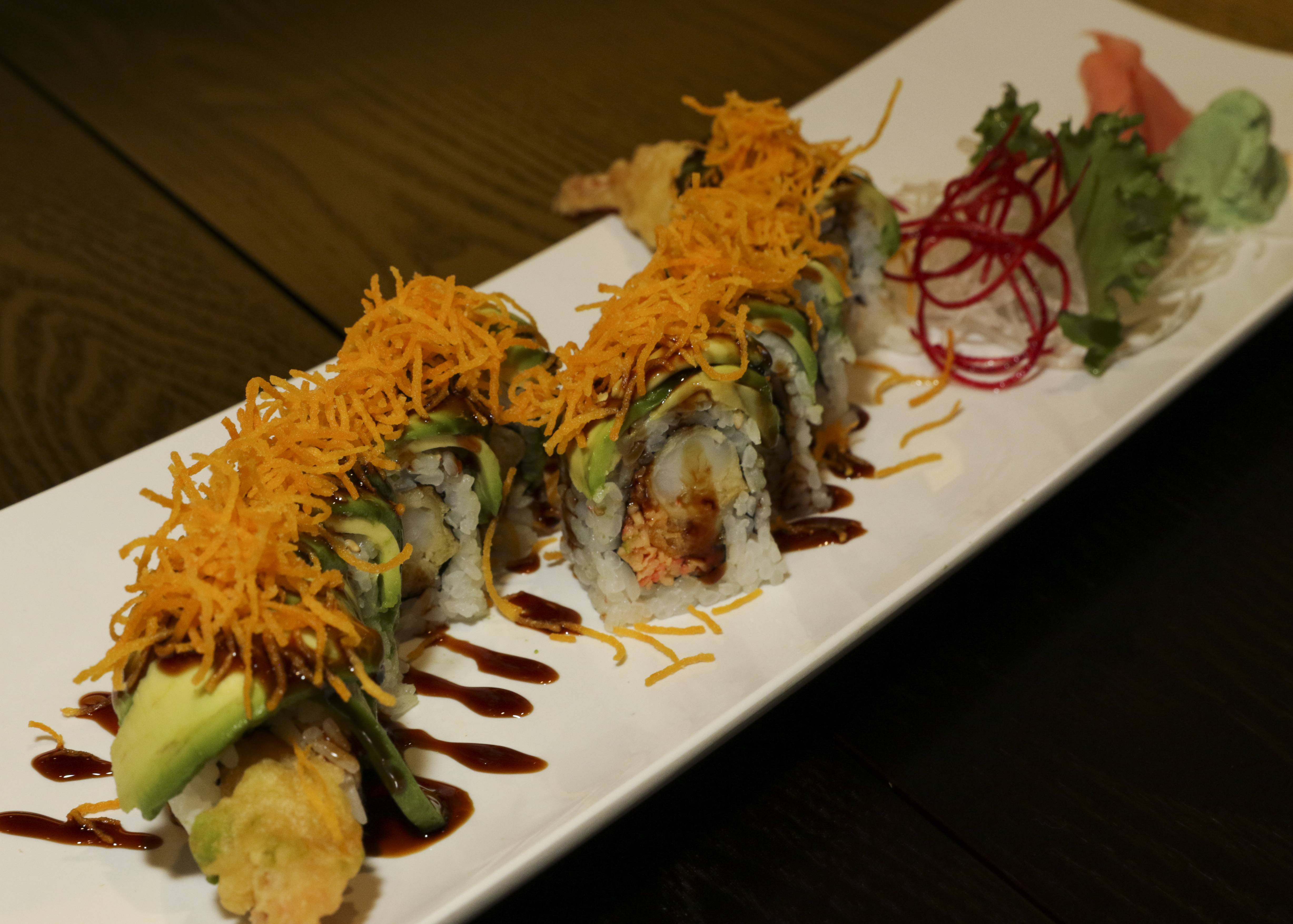 The Naperville roll is one of many maki options at Sushi Naper in Naperville.