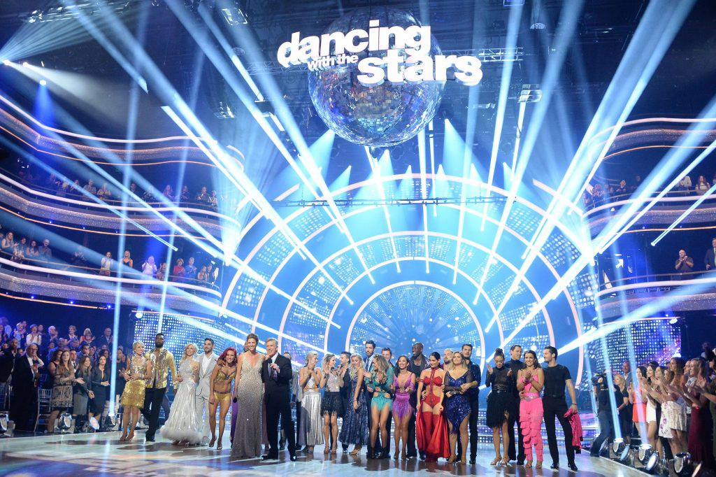 "The cast of ABC's ""Dancing With the Stars"" Season 25."