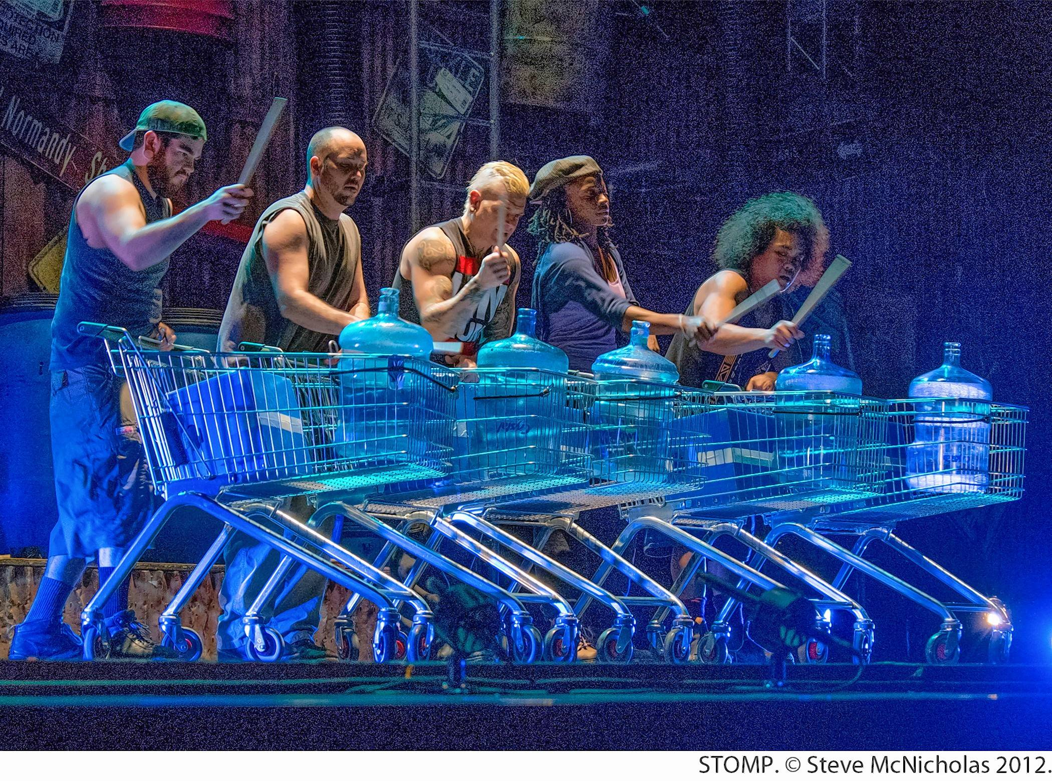 "The hit international percussion dance revue ""Stomp"" will return to the Paramount Theatre in Aurora on Wednesday, Nov. 1."