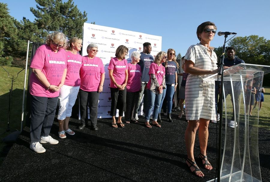 Bears Advocate Team Up For Breast Cancer Awareness In
