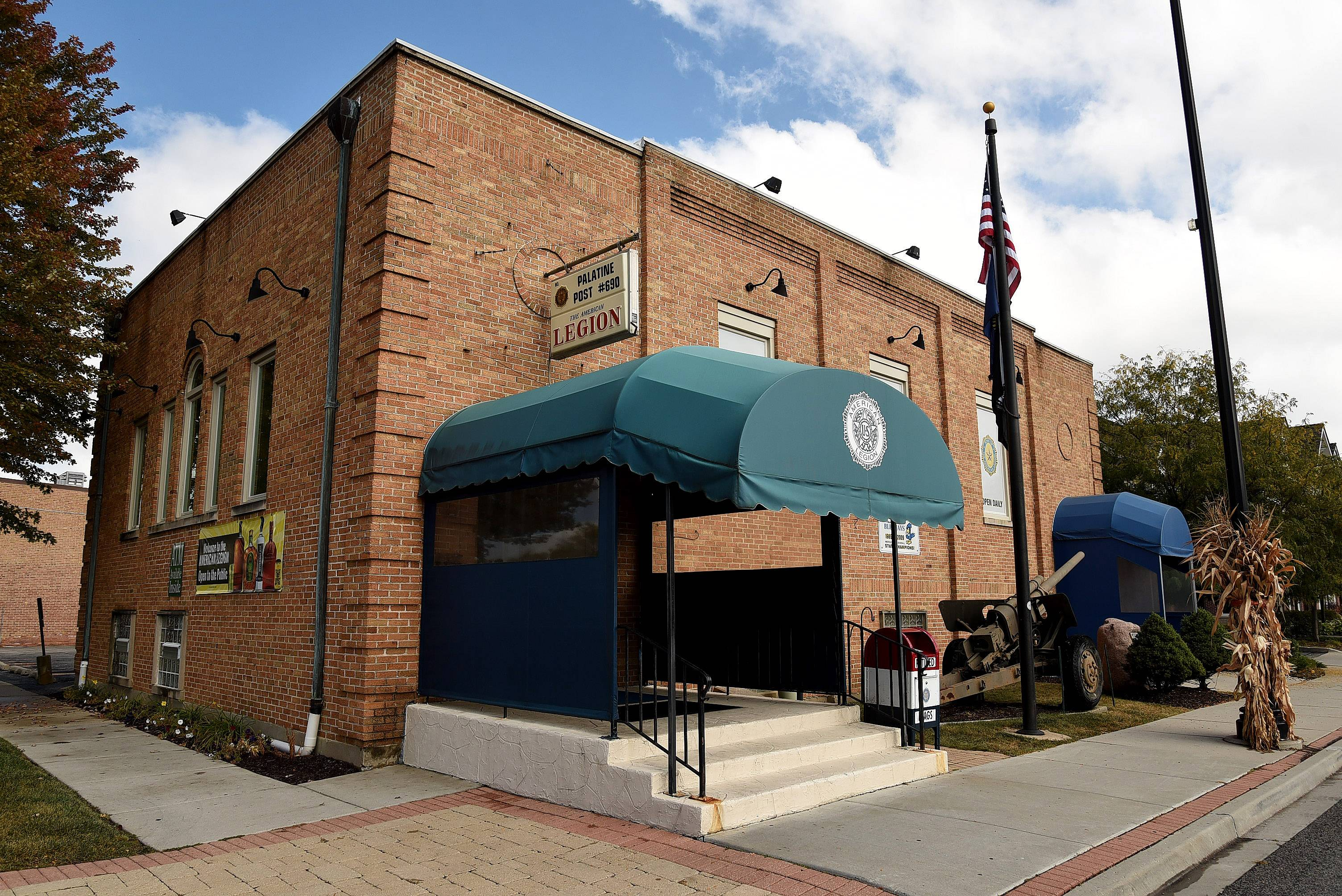 Leaders of Palatine American Legion Post 690 at 122 W. Palatine Road had expected the village council to approve their plans for outdoor seating at the post.