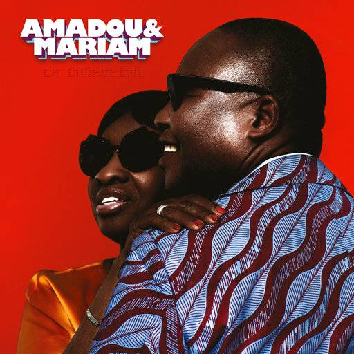 "This image released by Because Music shows, ""La Confusion,"" a new release by Amadou & Mariam. (Because Music via AP)"