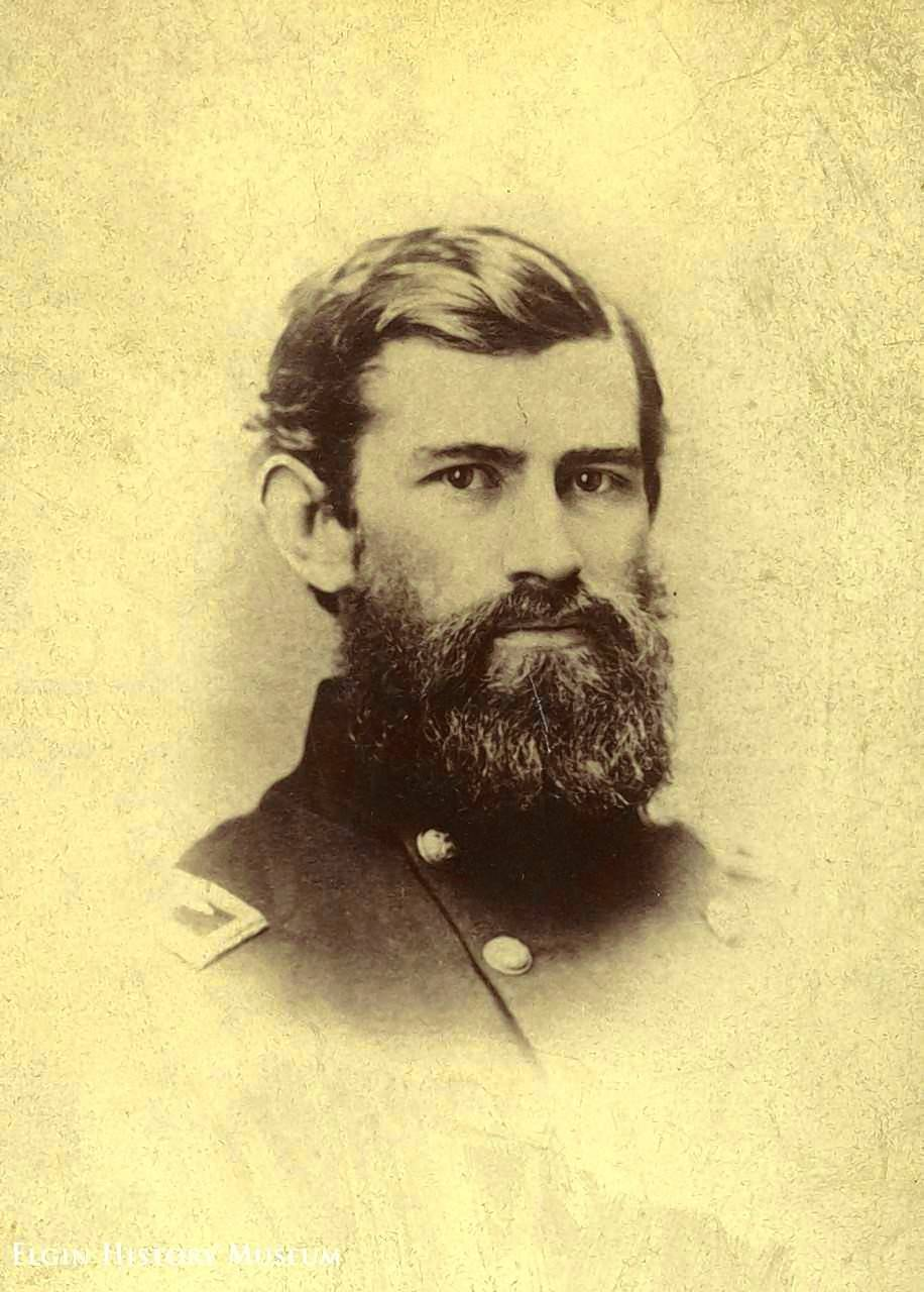 Civil War General John Wilcox will be portrayed by Andrew Cuming at this year's Elgin Cemetery Walk, which takes place Sunday, Sept. 24, at Bluff City Cemetery.