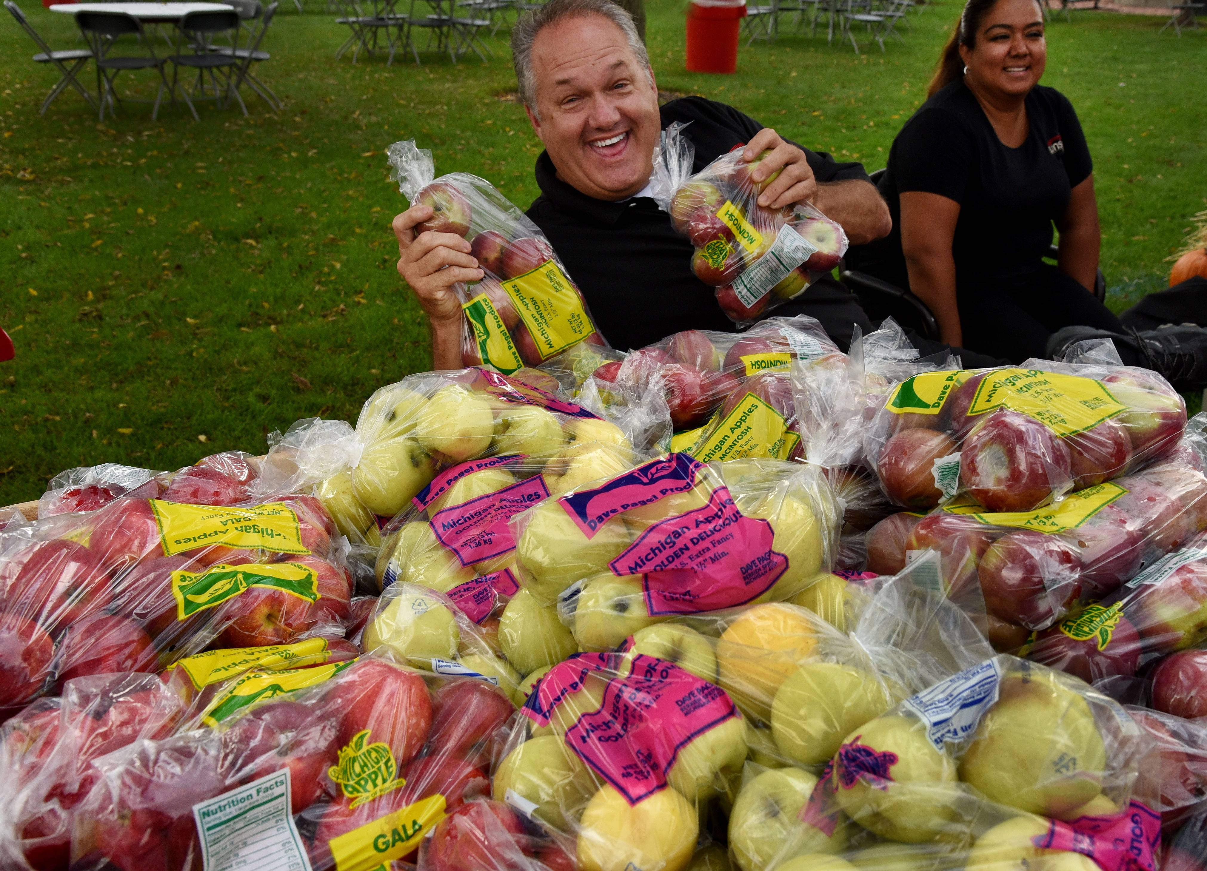 Apple vendors will have plenty of fruit available at Long Grove Apple Fest.
