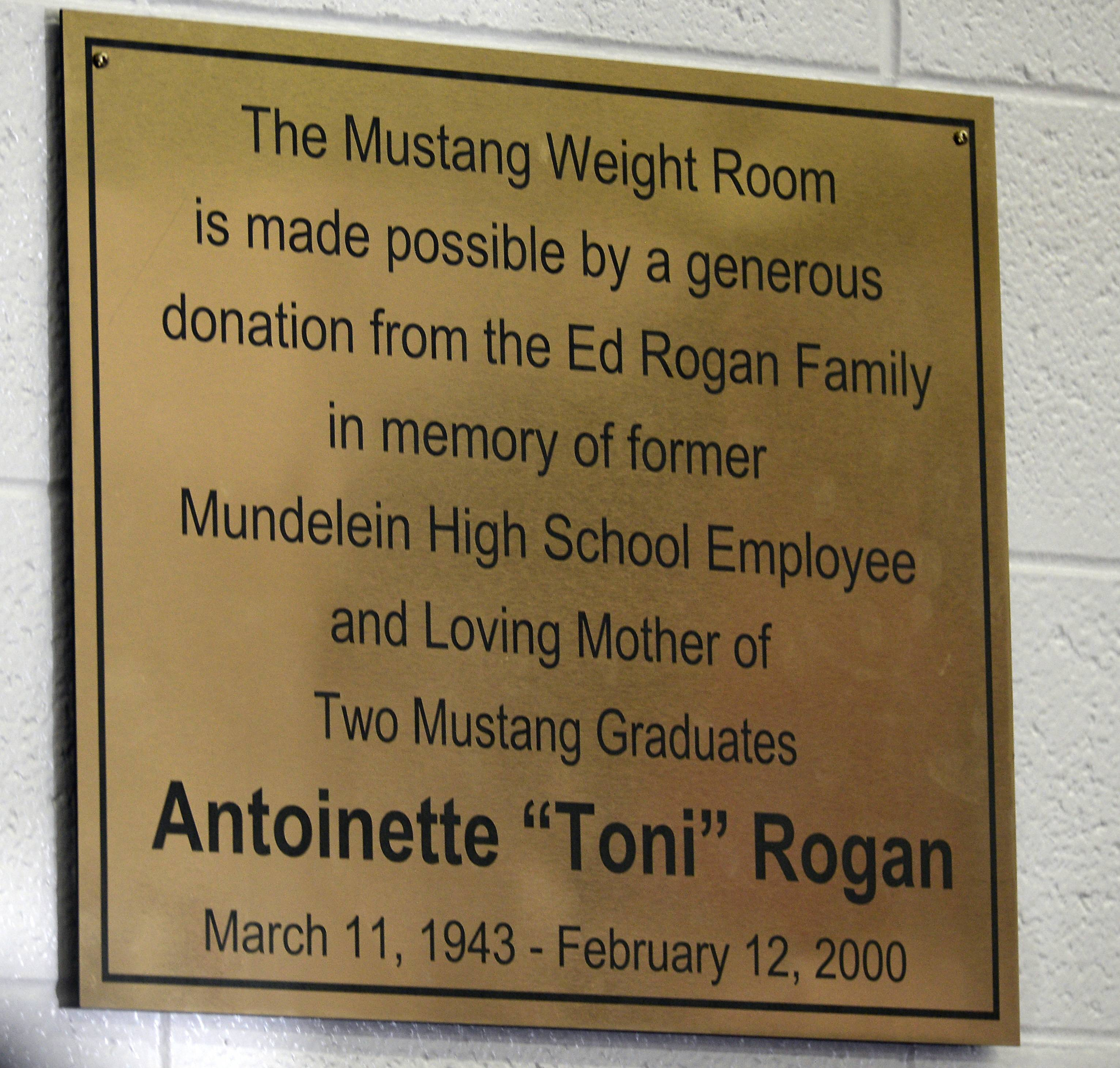 Large memorial donations provide lift to Mundelein High athletics