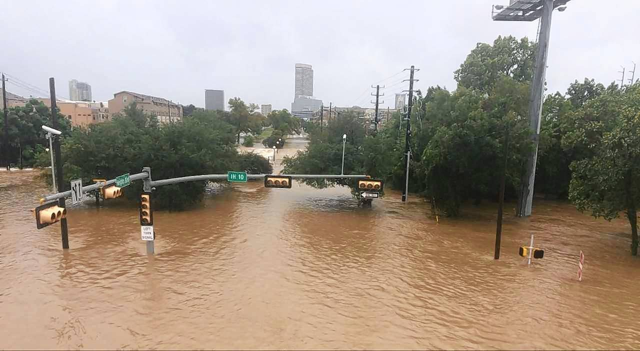 Houston Press reporter Meagan Flynn, a Huntley High School graduate, took pictures of severe flooding about a block or two from her Houston apartment two days after Hurricane Harvey made landfall.
