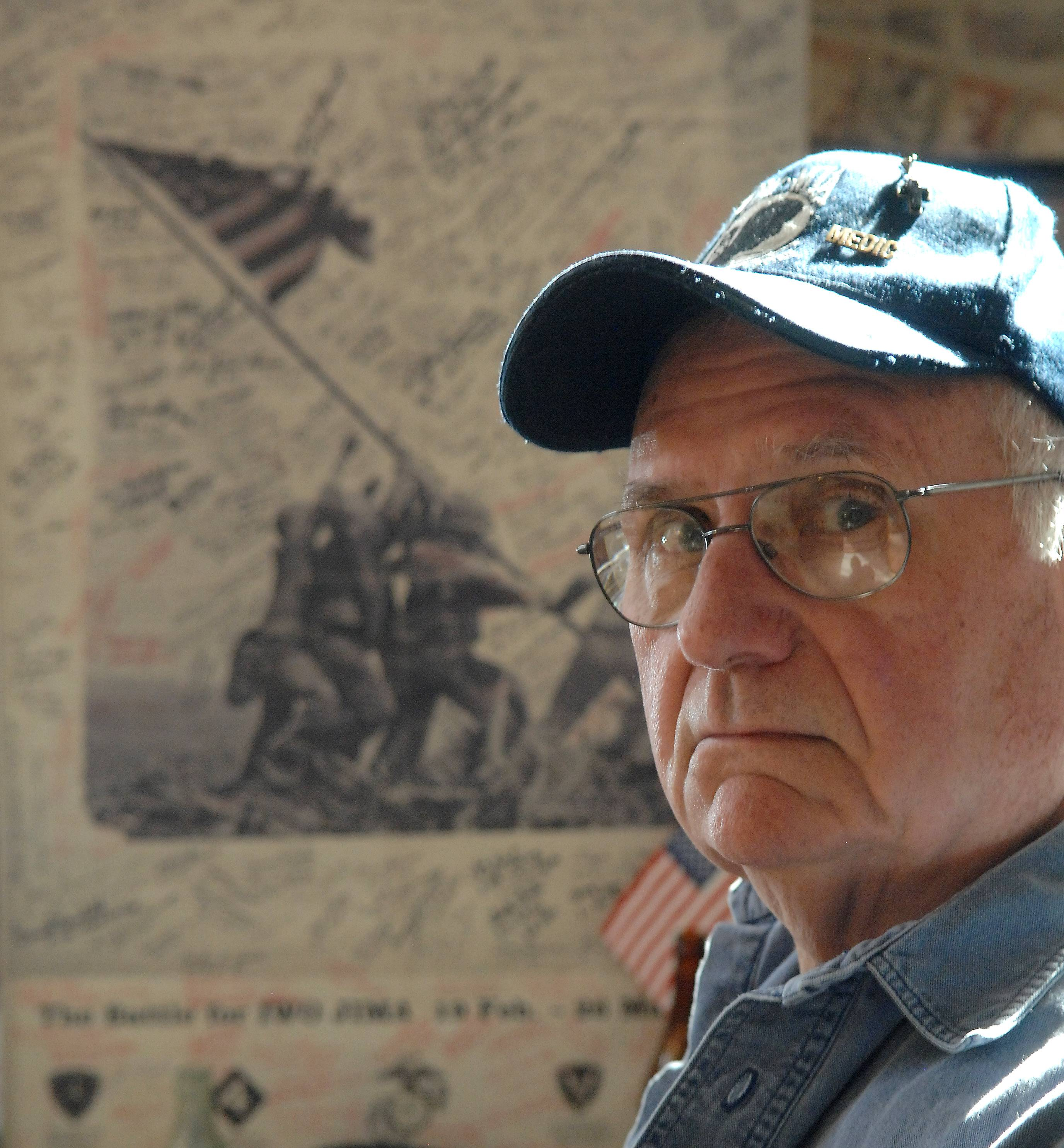 South Elgin resident Steve Thompson has spent a lifetime collecting military memorabilia, but now, he says, it's time to auction it off.