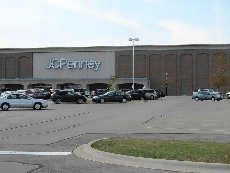 The JCPenney store at Yorktown Center in Lombard is set to be included in a special financing district the village could create to help spur redevelopment, although the store remains open as part of the mall.