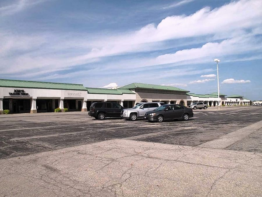 A largely vacant strip mall called Yorktown Convenience Center in Lombard is set to be included as part of a special financing district the village could create Oct. 19 to help spur redevelopment.