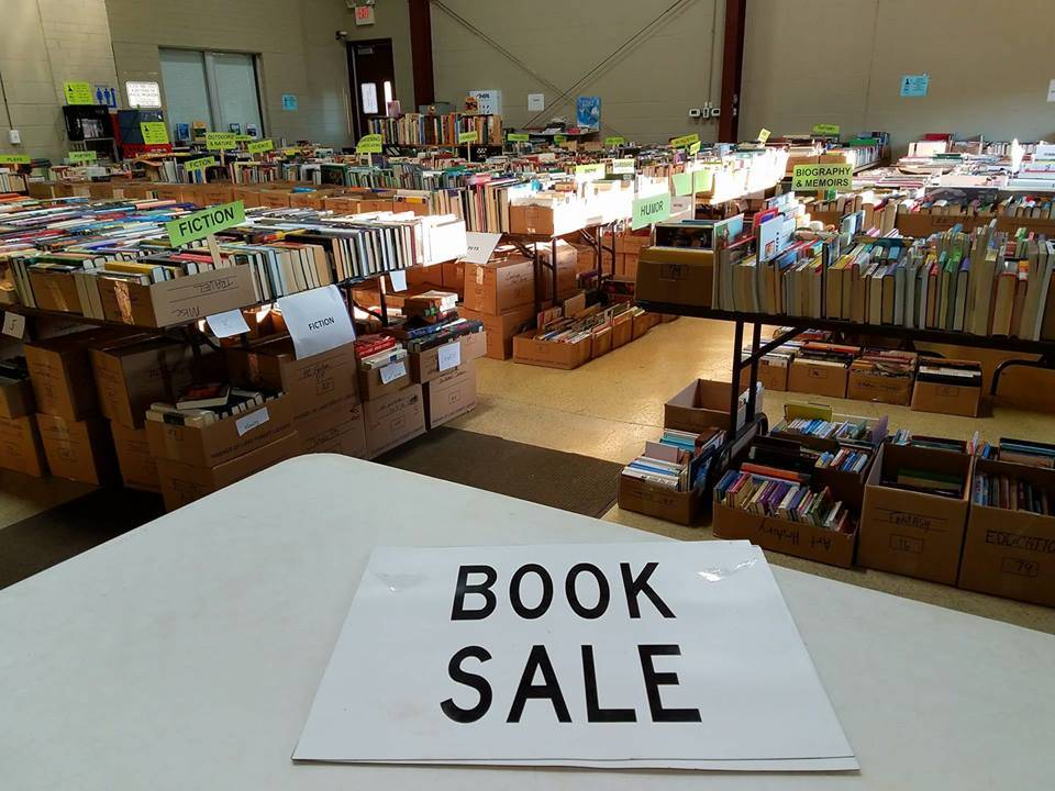 Stop by the annual Big Fall Book Sale, hosted by the Environmental Defenders of McHenry County.