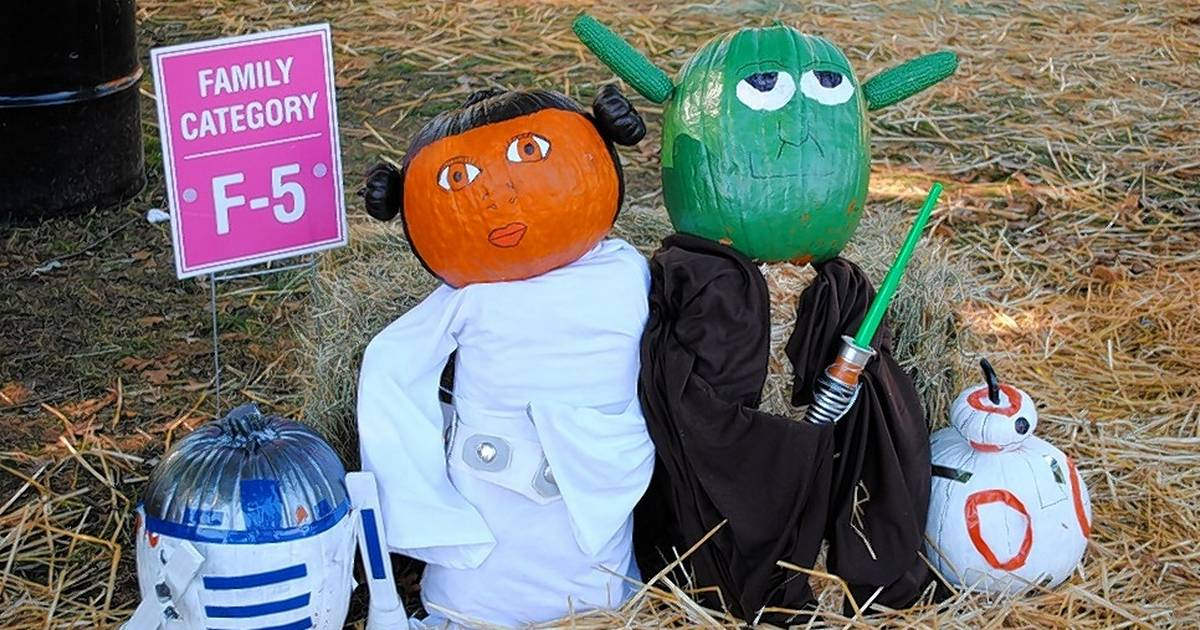 Compete in the scarecrow contest at 32nd annual scarecrow fest for St charles craft show 2017