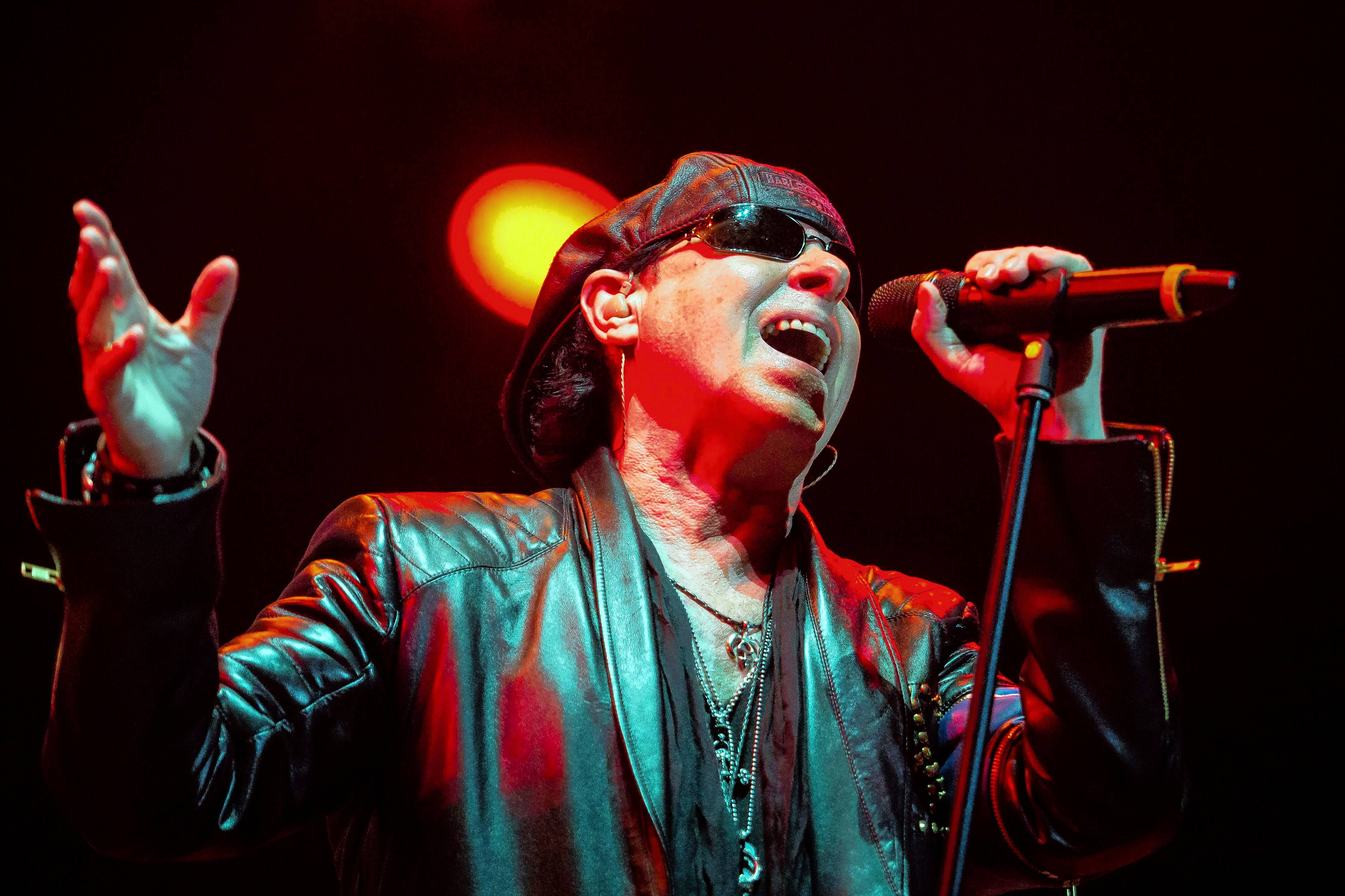 The Scorpions perform at the Allstate Arena in Rosemont on Saturday, Sept. 23.