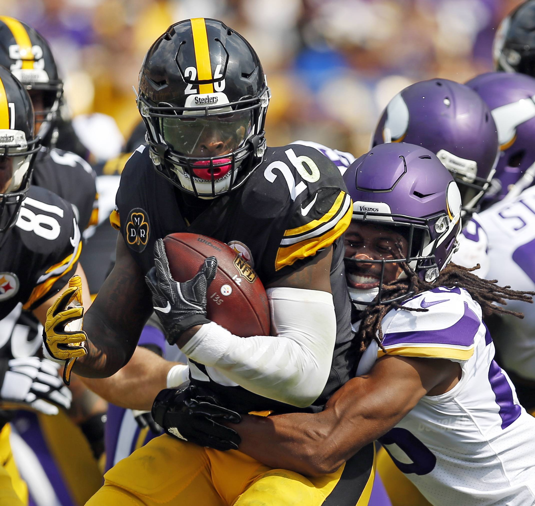 The Bears must make sure that Pittsburgh Steelers running back Le'Veon Bell doesn't have a big day on Sunday.