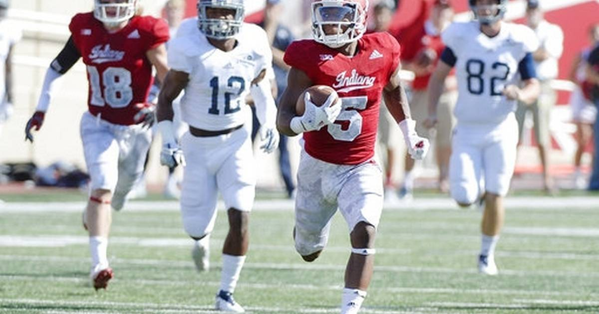 Indiana takes charge early to beat Georgia Southern 52-17