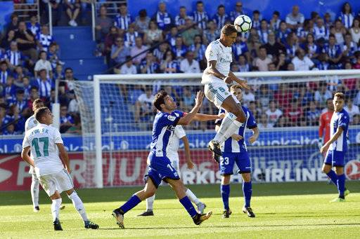 Image result for alaves 1-2 real madrid