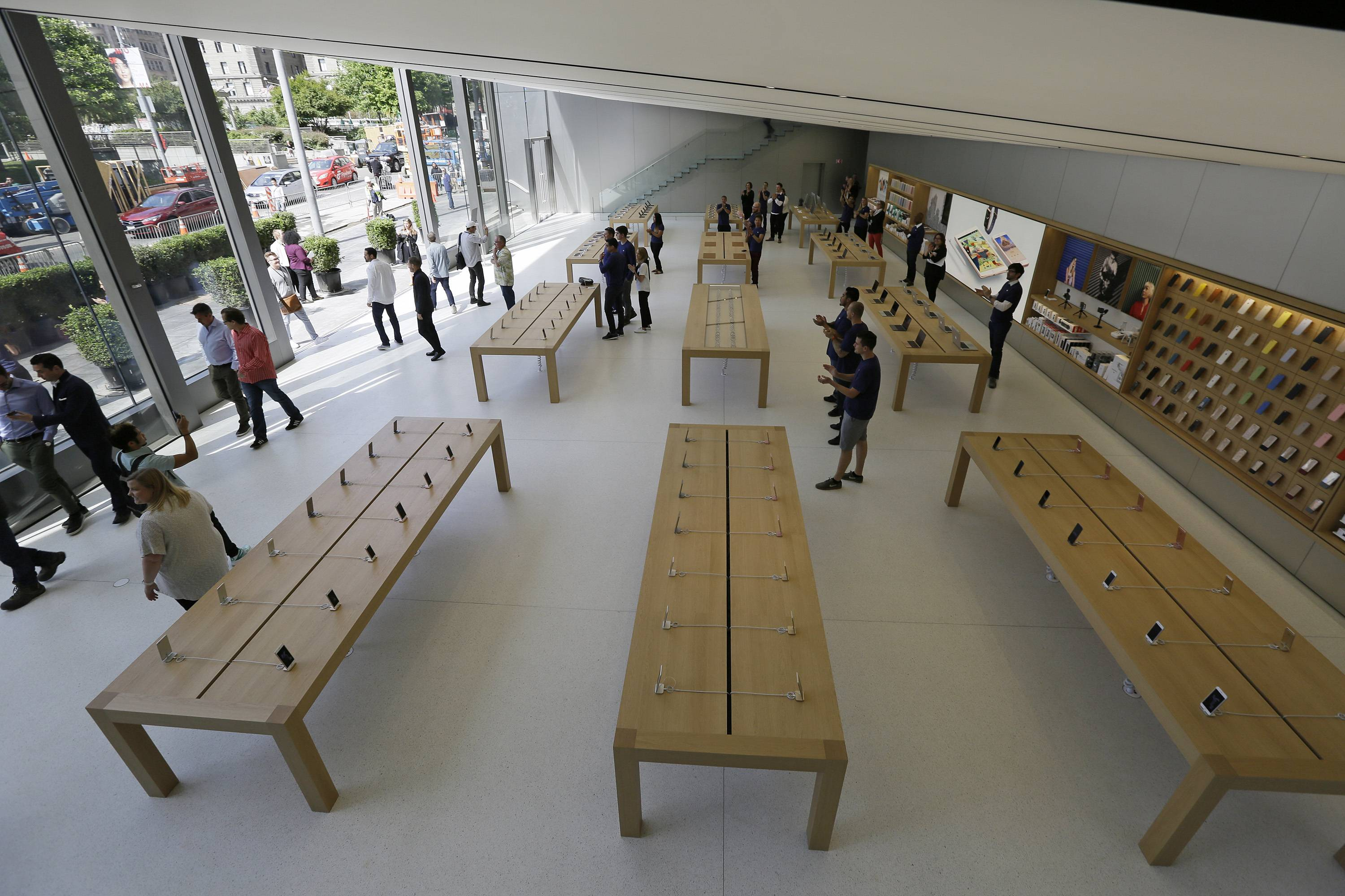 "From now on, Apple says its stores are ""town squares."" Here's its new concept: Company stores that would double as public spaces, complete with outdoor plazas, indoor forums and designated boardrooms for local entrepreneurs."