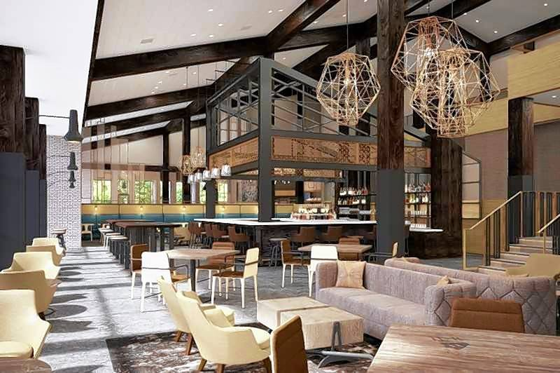 What the renovation at Marriott Lincolnshire looks like