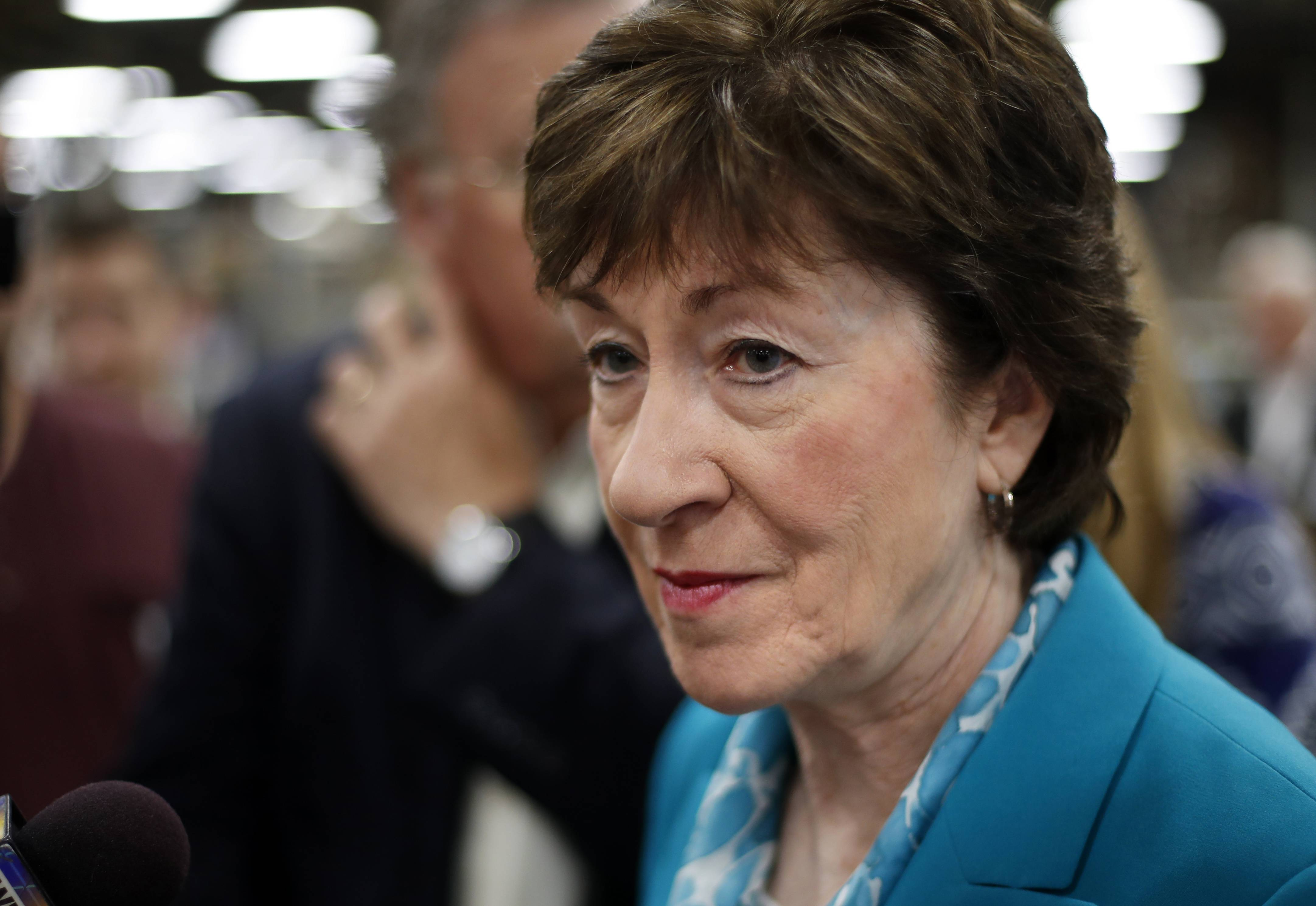 Sen. Susan Collins, a Maine Republican, joined a small but decisive cluster of GOP senators in opposing the push to pass another attempt at repealing the Affordable Care Act.