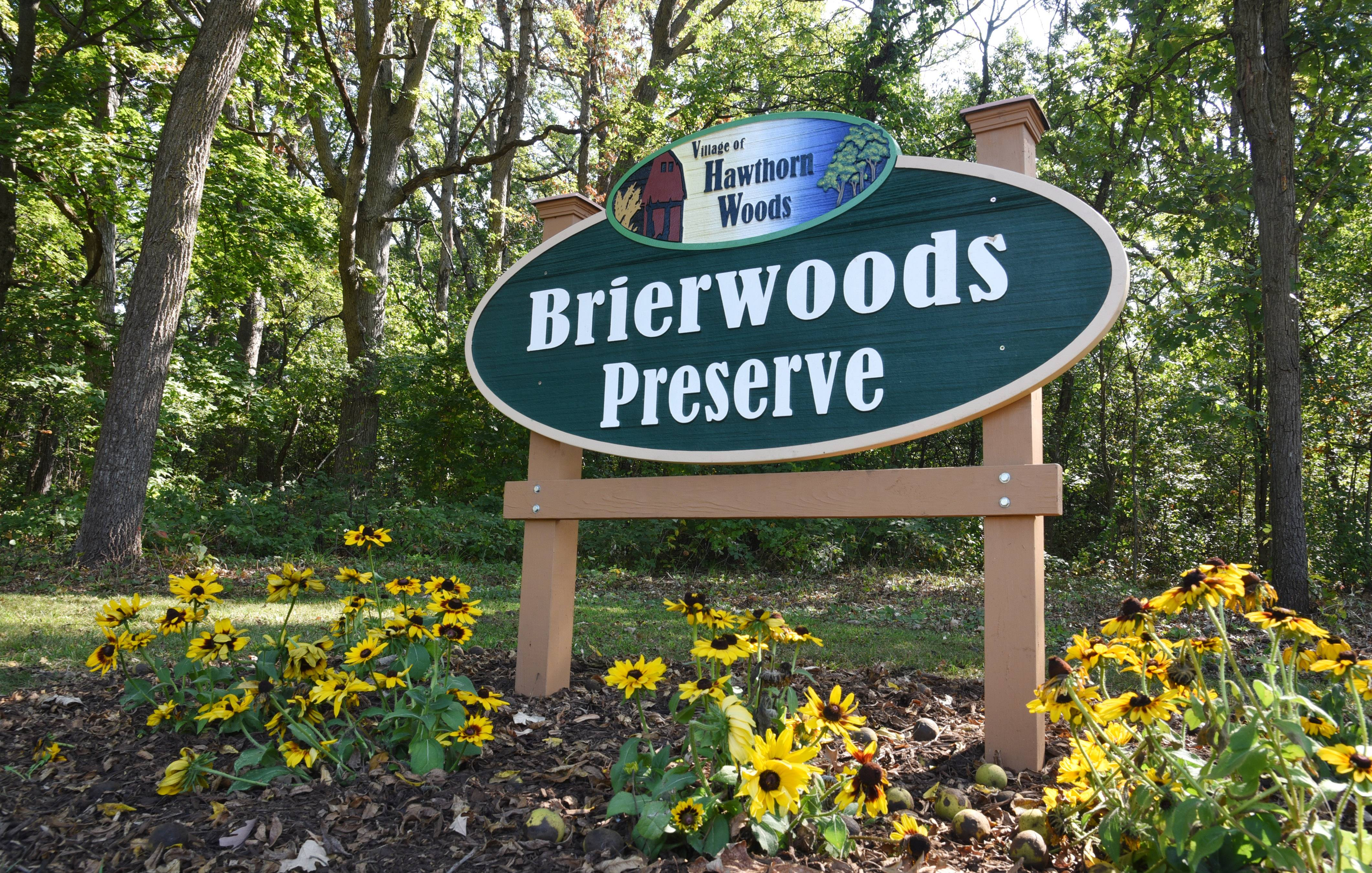 Hawthorn Woods officials will dedicate the Brierwoods Preserve on Friday. The village initially planned to create a monarch butterfly habitat on the site but discovered it was worth opening to the public at large.