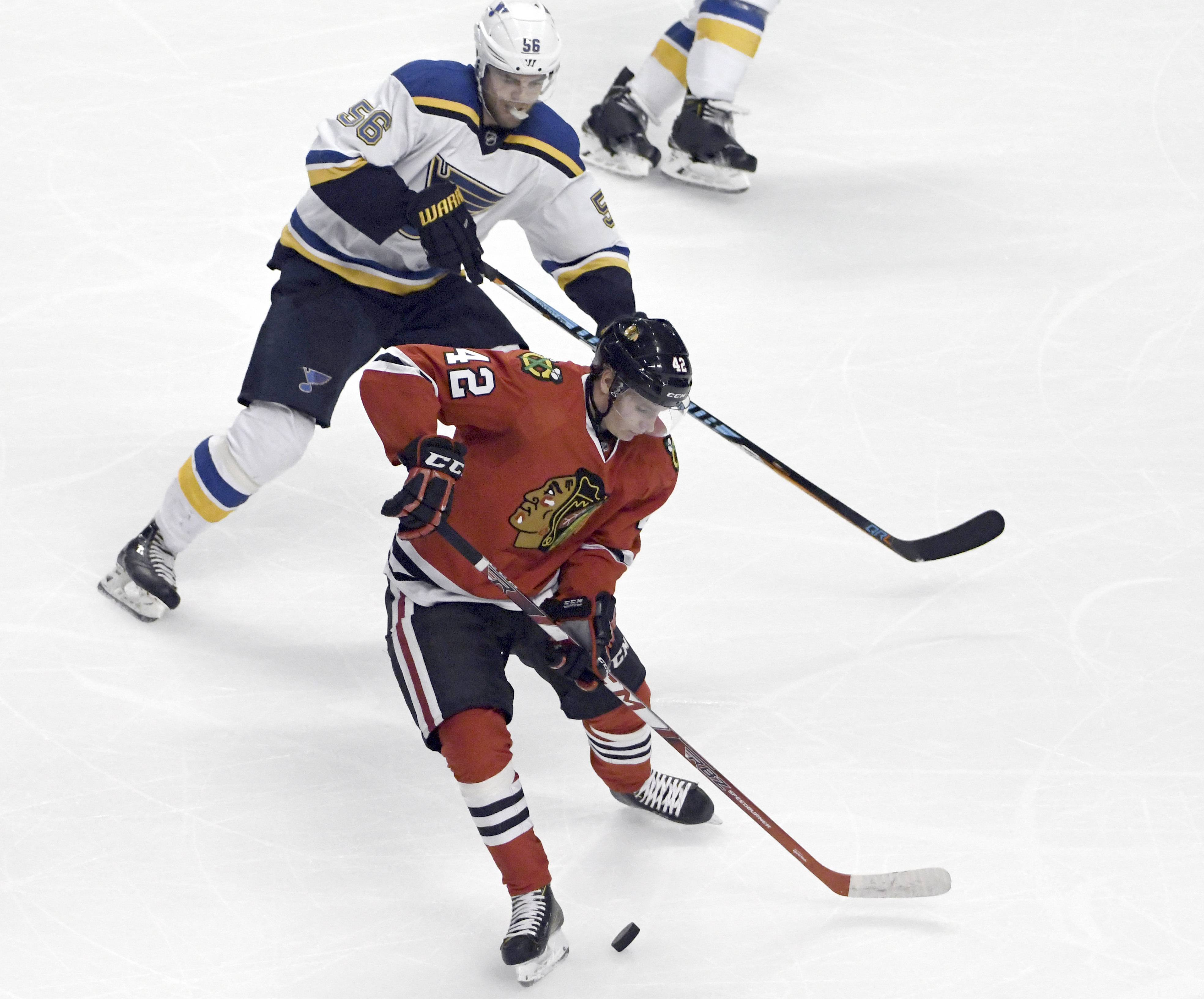 With about a week left in Blackhawks training camp, there's a fierce battle for the final few defensemen spots. Gustav Forsling had a typical rookie season in 2016-17, showing he was capable at times but also proving to be a liability.