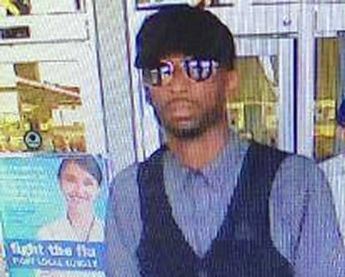 Authorities are searching for this man the FBI said is suspected of robbing five banks in nine days across the suburbs.