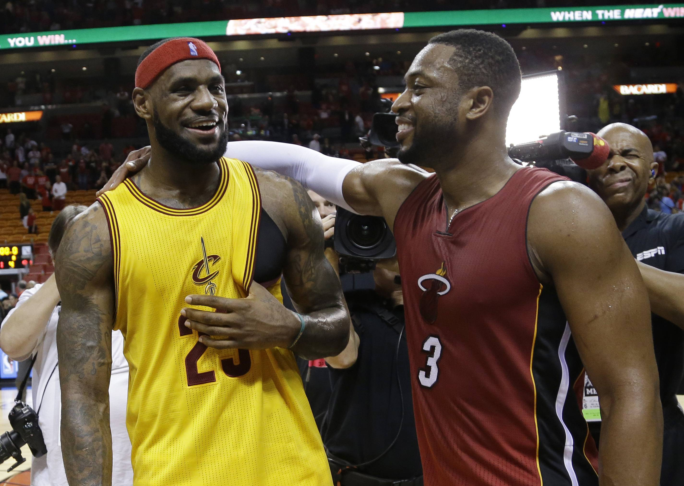 Can Wade, LeBron and D-Rose click together in Cleveland?