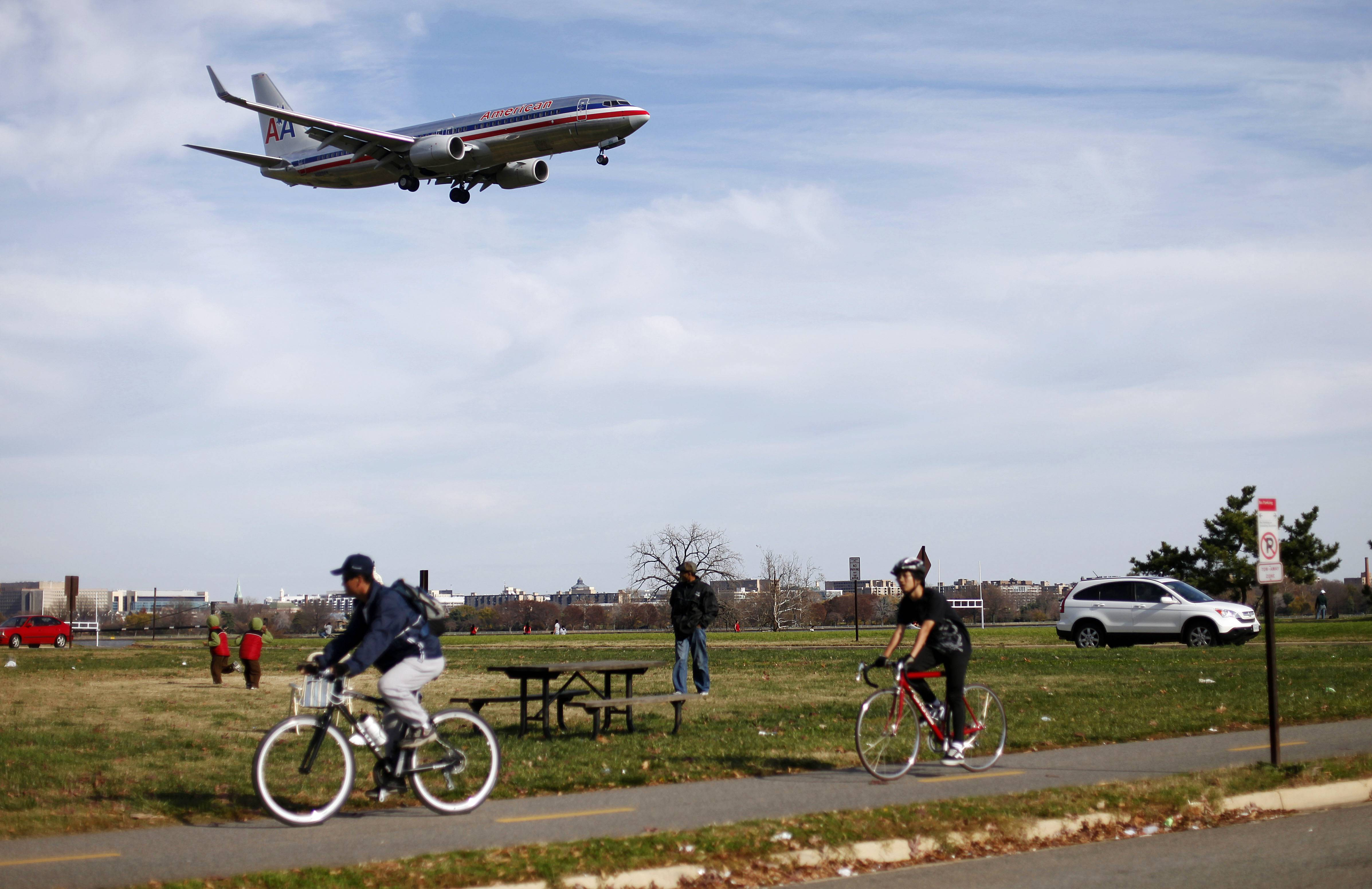 Visit Gravelly Point Park near Ronald Reagan National Airport and watch planes fly directly overhead.