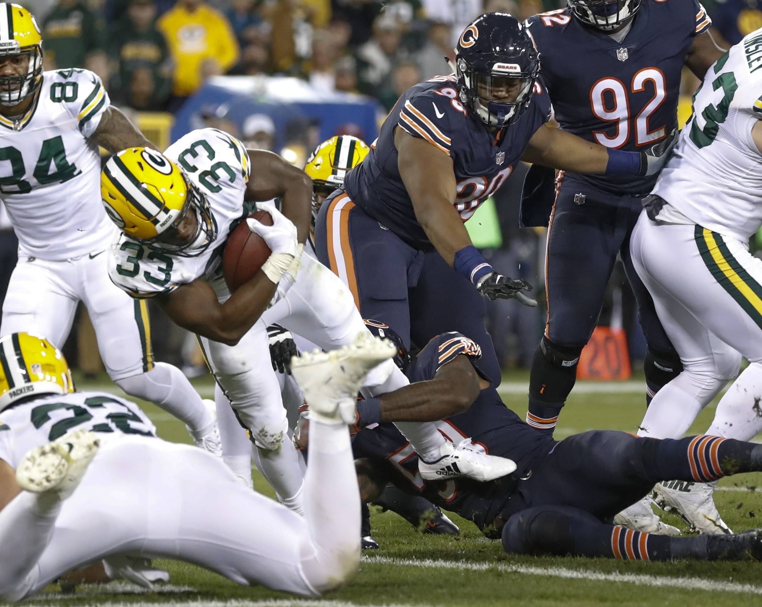 Bears suffer 35-14 loss to Packers