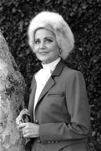 "FILE - In this Jan. 19, 1985 file photo, Anne Jeffreys, star of ABC's 'Finder of Lost Loves,' appears in Los Angeles. Jeffreys, an actress and opera singer who starred as Marion Kerby in the 1950s TV series ""Topper,"" died, Wednesday, Sept. 27, 2017, at age 94."
