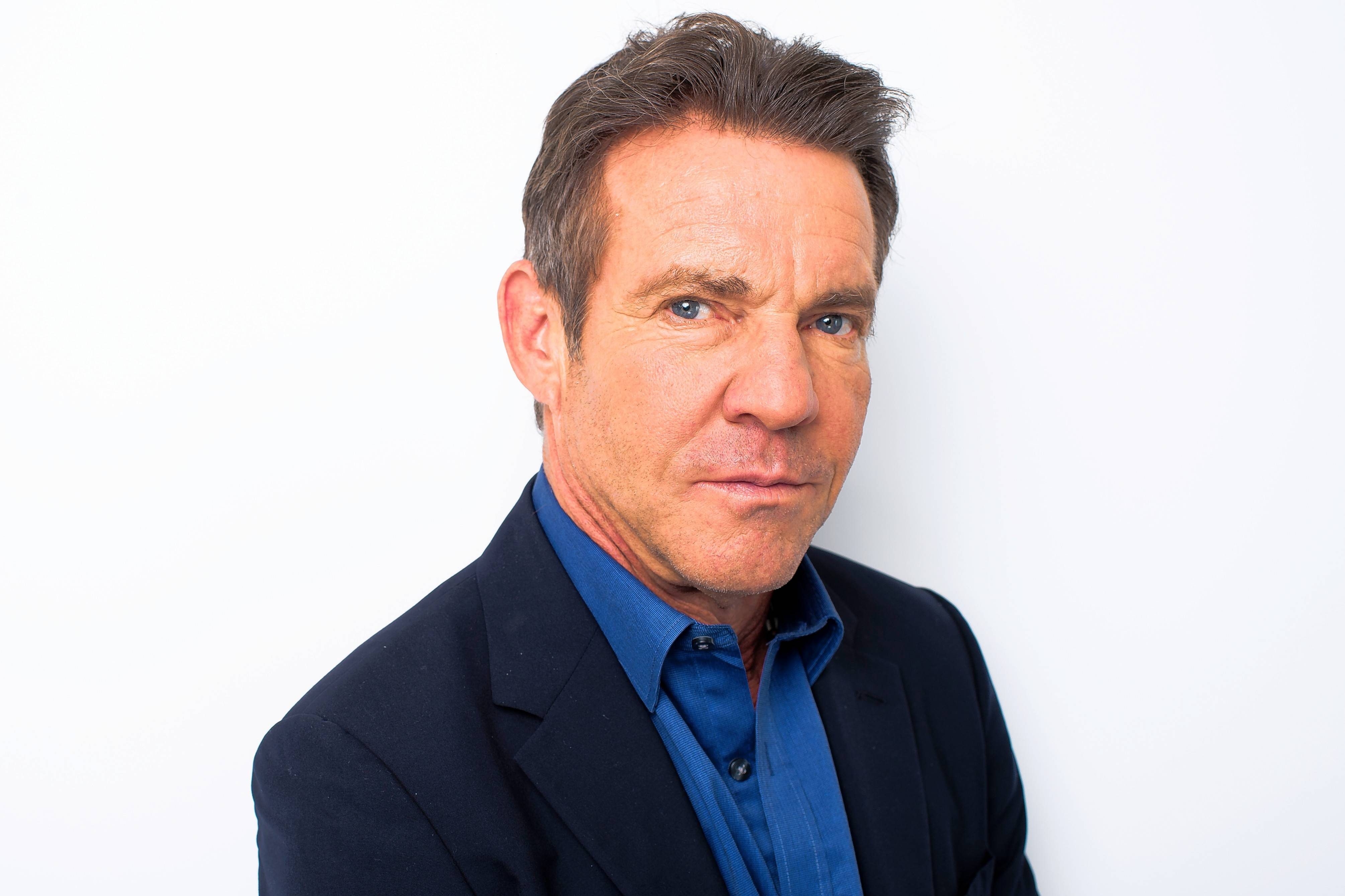 Dennis Quaid performs with the band The Sharks Saturday at the Arcada Theatre in St. Charles.