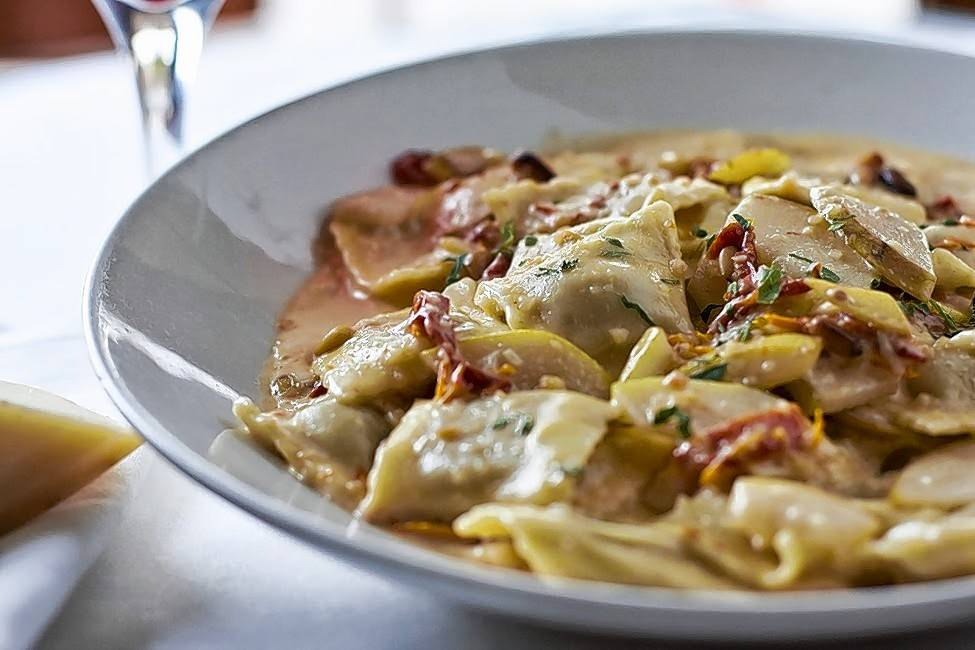 For every ravioli pera dish ordered at Tuscany in Wheeling and Oak Brook during October, $1 will be donated to the Lynn Sage In Good Taste Campaign to support breast cancer research.