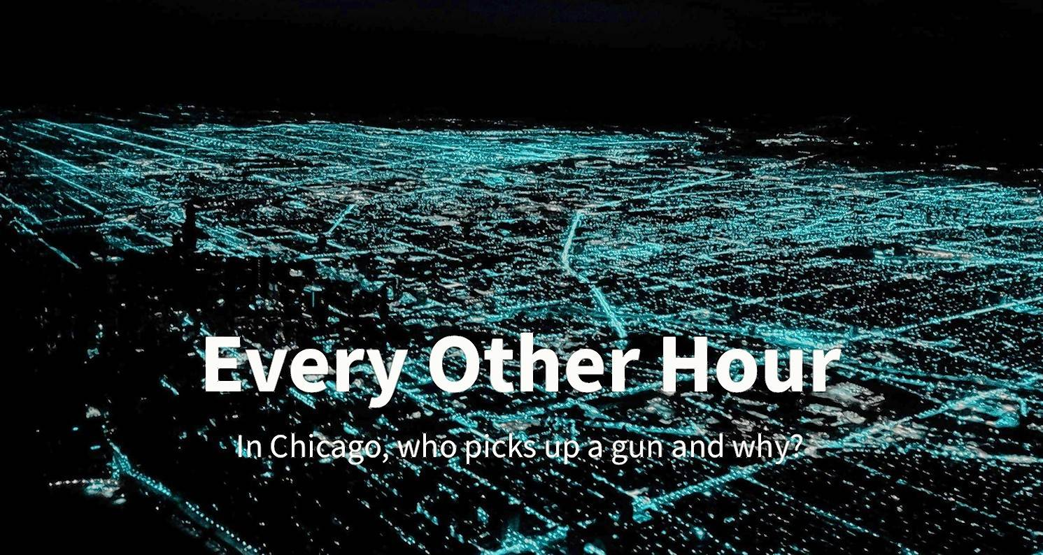 WBEZ's yearlong report on Chicago's gun violence is called Every Other Hour, which alludes to the frequency of shootings in the city.