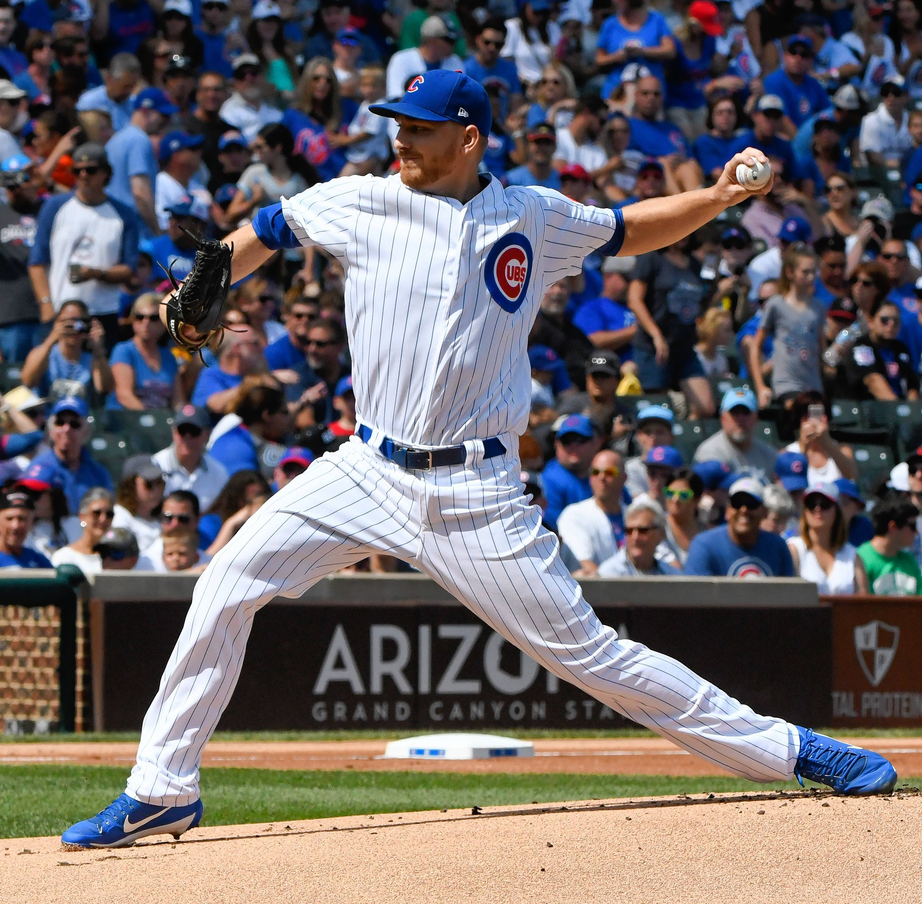 Not only did Cubs pitcher Mike Montgomery get the final out of Game 7 of last year's World Series, he's been one of manager Joe Maddon's most dependable arms this season, in both starting and relief roles.