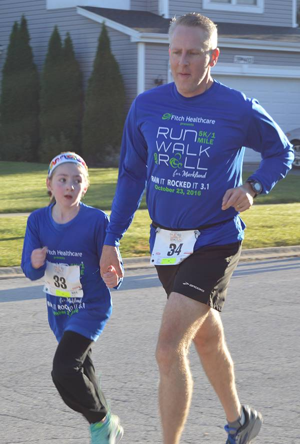 Marklund's Run, Walk & Roll has raised $190,000 for children and adults with developmental disabilities. This year's walk will be Sunday, Oct. 22.