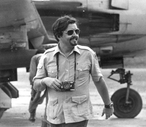 FILE - This October 1970 file photo shows Richard Pyle. Pyle, an Associated Press reporter whose career spanned a half-century of war, catastrophe and other indelible stories has died in New York, Thursday, Sept. 28, 2017. Richard Pyle was 83.