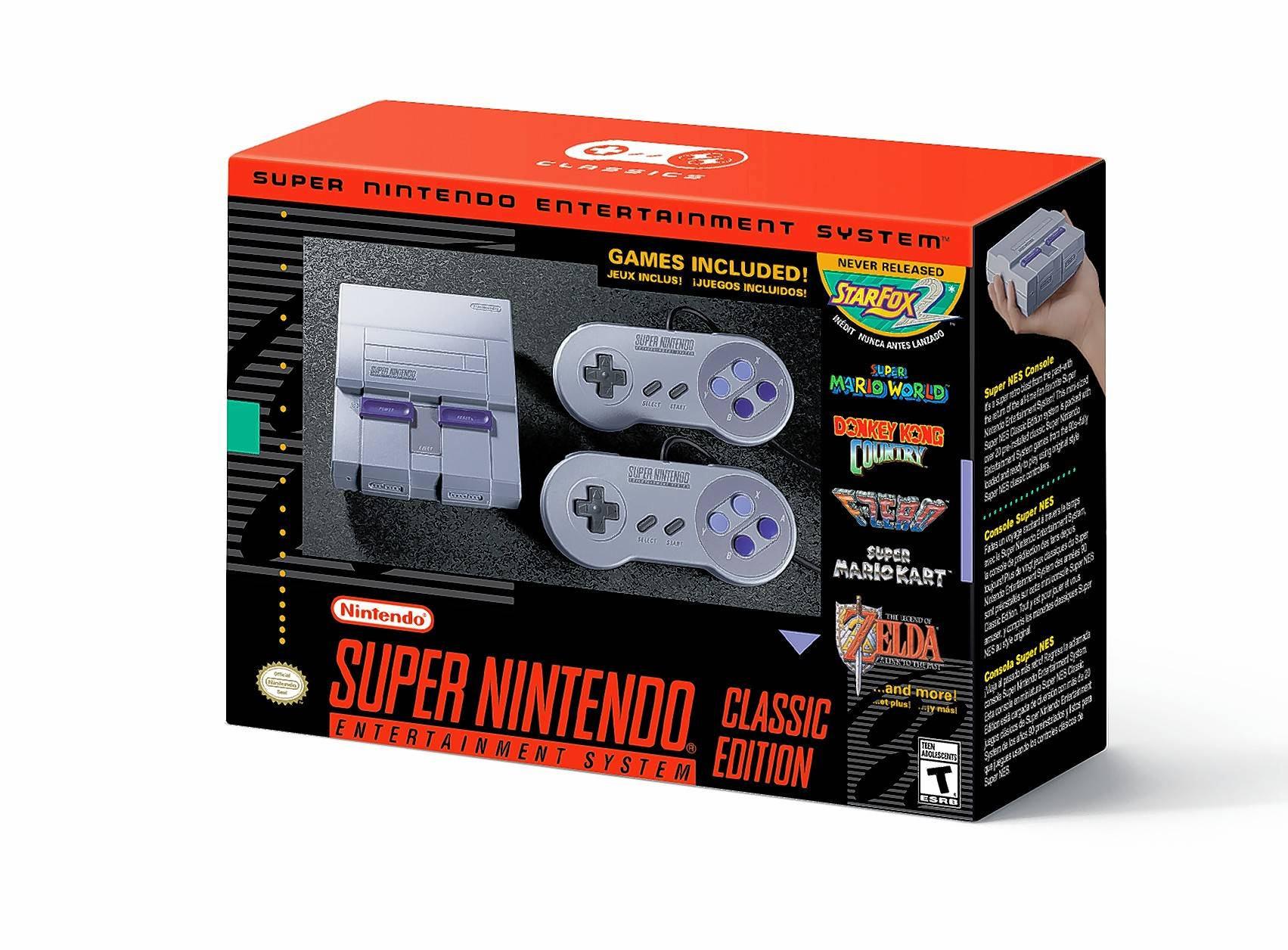 On Sept. 29 Nintendo launches the SNES Classic, a limited-release mini-version of the Super Nintendo Entertainment System first released in the United States in 1991.